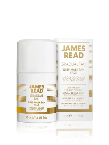 James Read Ночная маска для лица с эффектом загара (обычная) Sleep Mask Tan Face