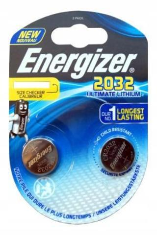 Элемент питания ENR CR2032 Ultimate Lithium S BL2