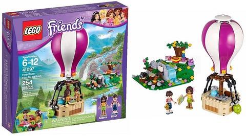 LEGO Friends: Воздушный шар 41097 — Heartlake Hot Air Balloon — Лего Друзья Продружки Френдз