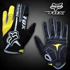 Велосипедные перчатки Fox длинные (желтые)