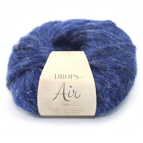 Пряжа Drops Air 09 темно-синий
