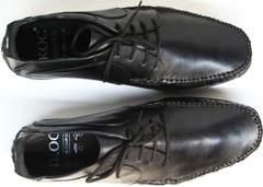 Обувь мокасины мужские Ikoc 112-1Black