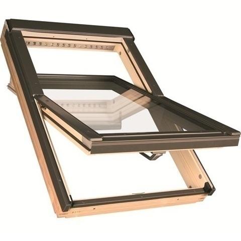 Мансардное окно Факро FTP-V U5 Thermo 94х140