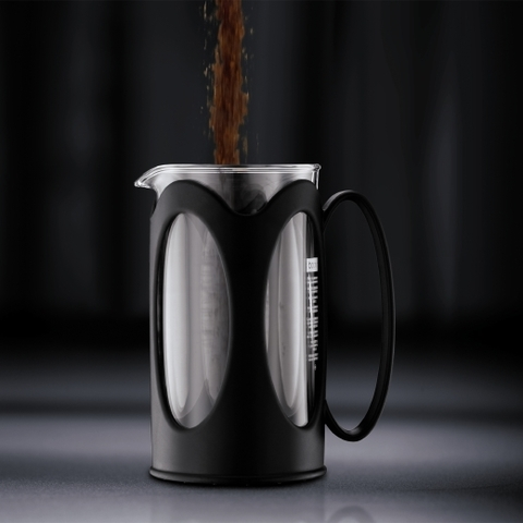 Френч-пресс Bodum Kenya (1 литр), черный