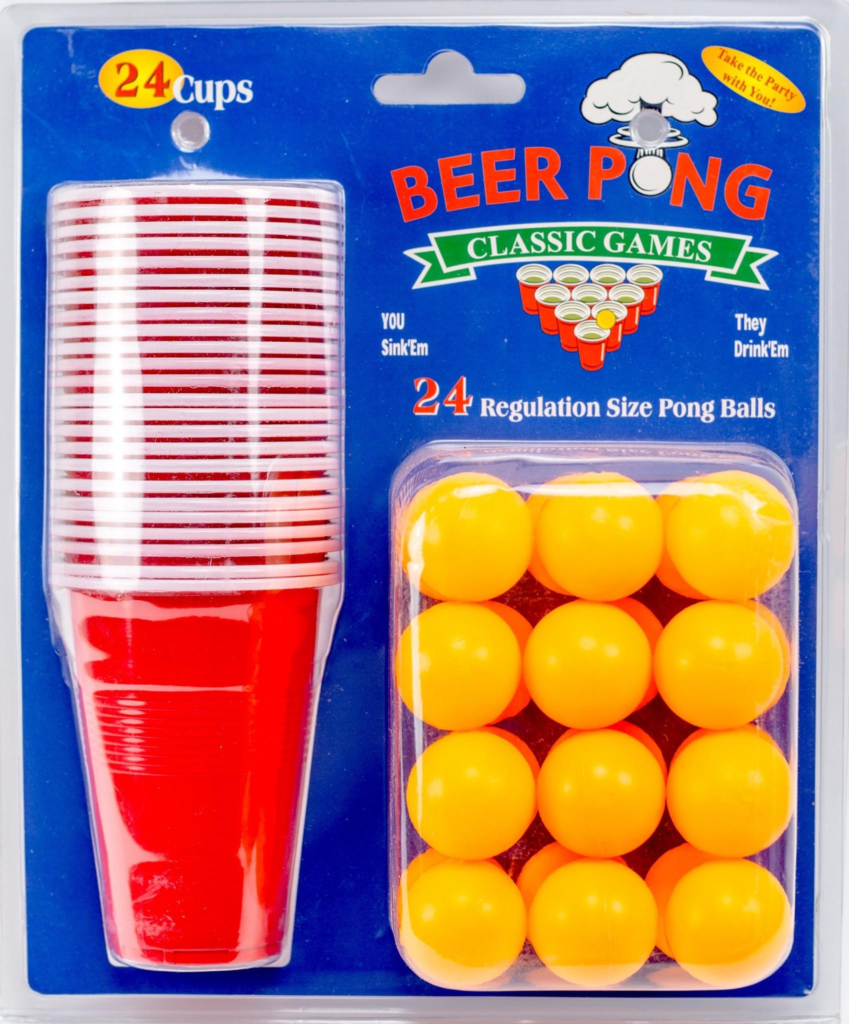Игра «Beer Pong» сумка printio beer pong master 2017