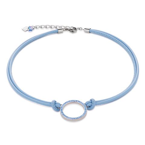 Колье Coeur de Lion 4926/10-0720 цвет голубой