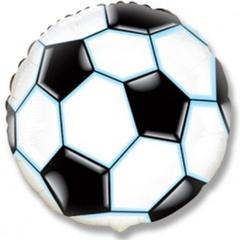 F Мини-круг Футбольный мяч, Черный, 9''/23 см, 5 шт.