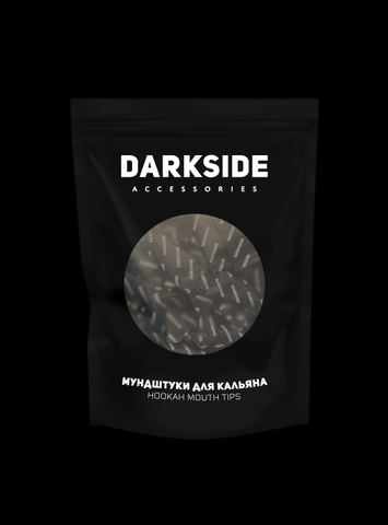 DARKSIDE Disposable Mouthpieces in Branded Package 100 (black)