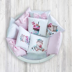 """Комплект для детской кроватки """"Сладкий Сон"""""""