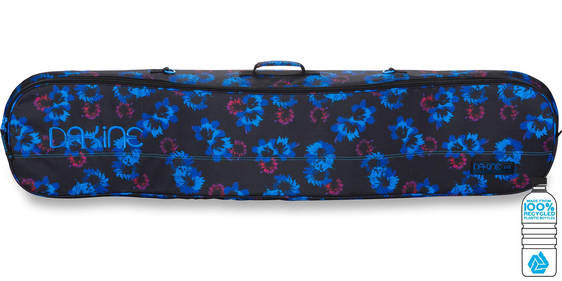 Для сноуборда Чехол для сноуборда женский Dakine Pipe 148см Blue Flowers 1650100_BFL_WOMENSPIPE148CM_BLUEFLOWERS.jpg