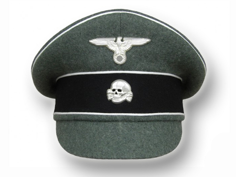Фуражка полевая унтер-офицера и офицера Ваффен-СС, (копия)