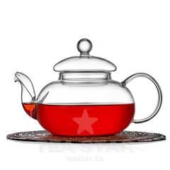 """Чайник заварочный """"Смородина"""" 800 мл, стеклянный"""