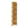 МС стеллаж угловой СДУ 370.1 (дуб бунратти), ЛДСП, ДСВ Мебель