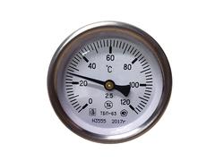 Термометр биметаллический 0-120 ТБП-63