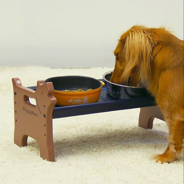 стол для мисок для собак doggyman