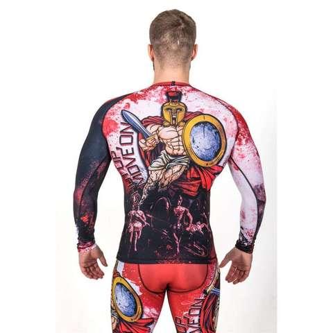 купить рашгард мужской orso sparta gektor с длинным рукавом для фитнеса единоборств занятий спортом