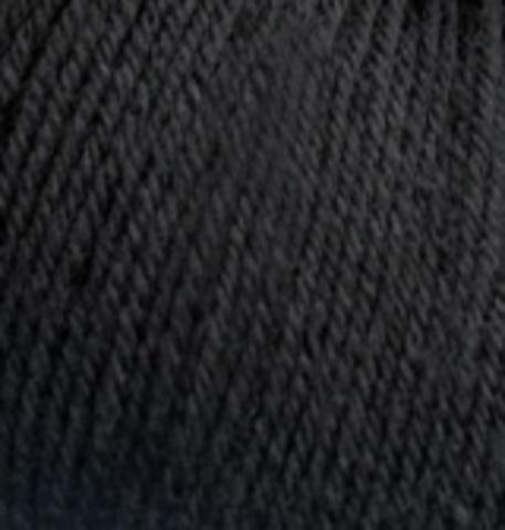 Пряжа Baby wool ( Alize) 60 Черный
