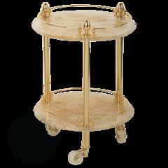Столик на колесиках Migliore Elizabetta  ML.ELB-60.149    H57 cm; D40 cm
