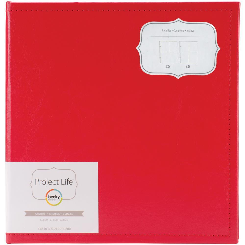 Альбом на кольцах для Life Project 6х8 in. Кожа.
