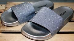 Летние шлепанцы женские J.B.P. Shoes Nu1213 Silver.