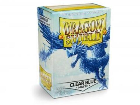 Протекторы Dragon Shield матовые Clear Blue (100 шт.)