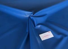 Искусственная кожа синяя 138