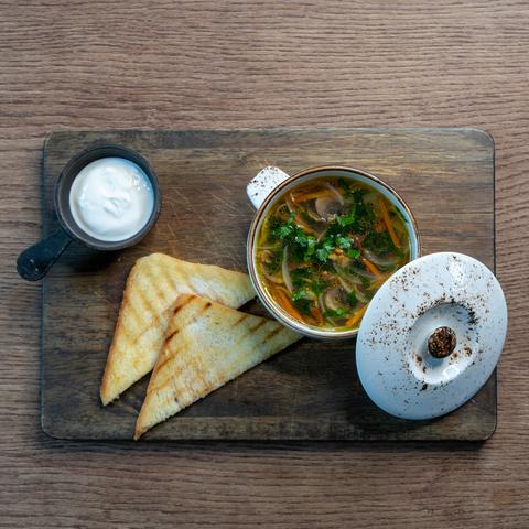 Суп Грибной с лисичками 300мл