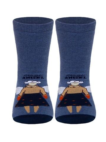 Детские носки Весёлые Ножки 17С-45СП (махровые, антискользящие) рис. 291 Conte Kids