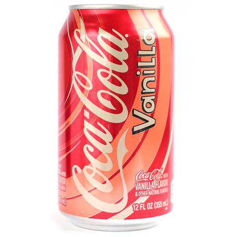 Газировка Coca-Cola Vanilla