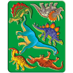 Трафарет Луч Динозавры