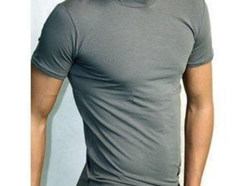 Мужская футболка серая Doreanse 2730 Smoke
