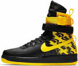 Кроссовки Nike SF Air Force 1 Black/Yellow