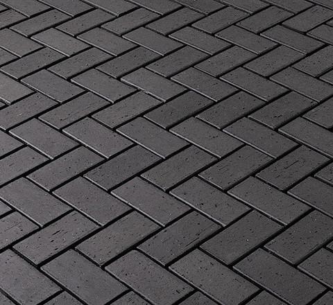 Vandersanden - Milano O., черный, 200x100x45 - Клинкерная тротуарная брусчатка