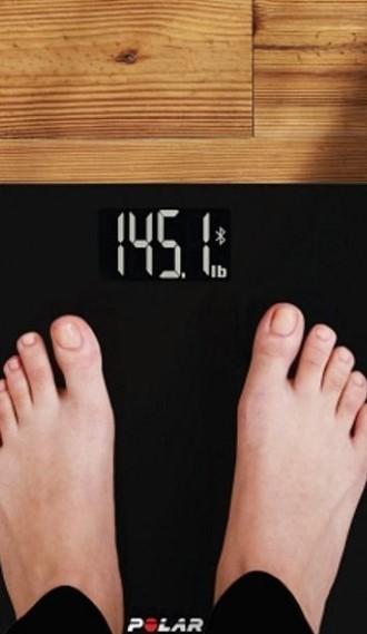 Весы Polar Balance Black