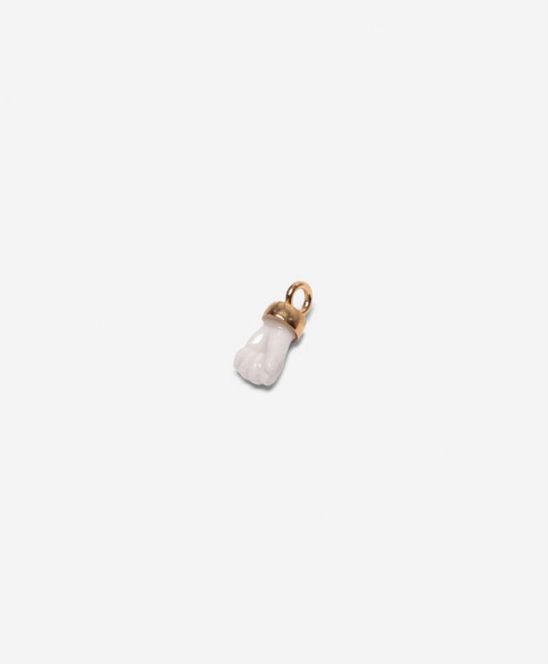 Подвеска Mini fist charm white
