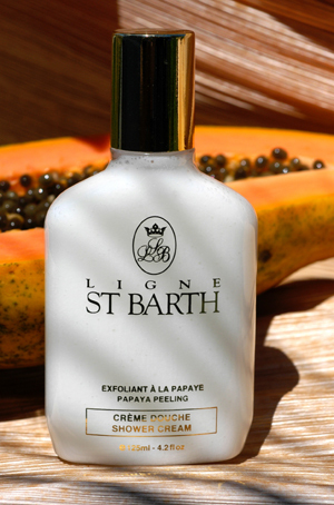 Крем-пилинг для душа St Barth Creme Douce Shower Cream Papaya Peeling 125мл