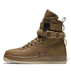 Кроссовки Мужские Nike SF Air Force Golden Beige