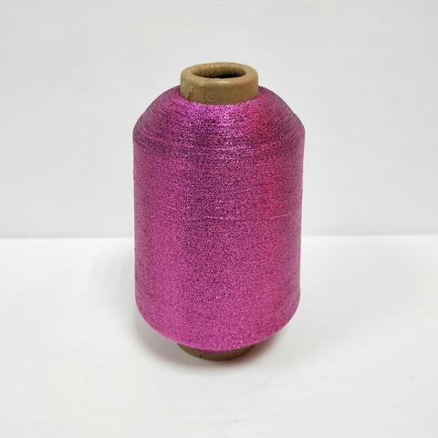 Пряжа Люрекс, Яркий розовый, 11000 м в 100 г