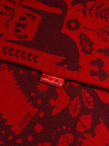 Красная Горка – бордовые тона № 6.2 (С бахромой)