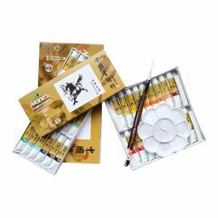 Набор минеральных красок для китайской живописи Marie`s, 18 цветов по 12 мл