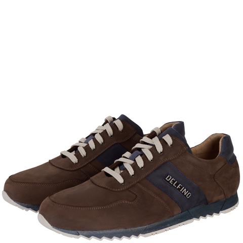 701396 полуботинки мужские коричнево-синие. КупиРазмер — обувь больших размеров марки Делфино