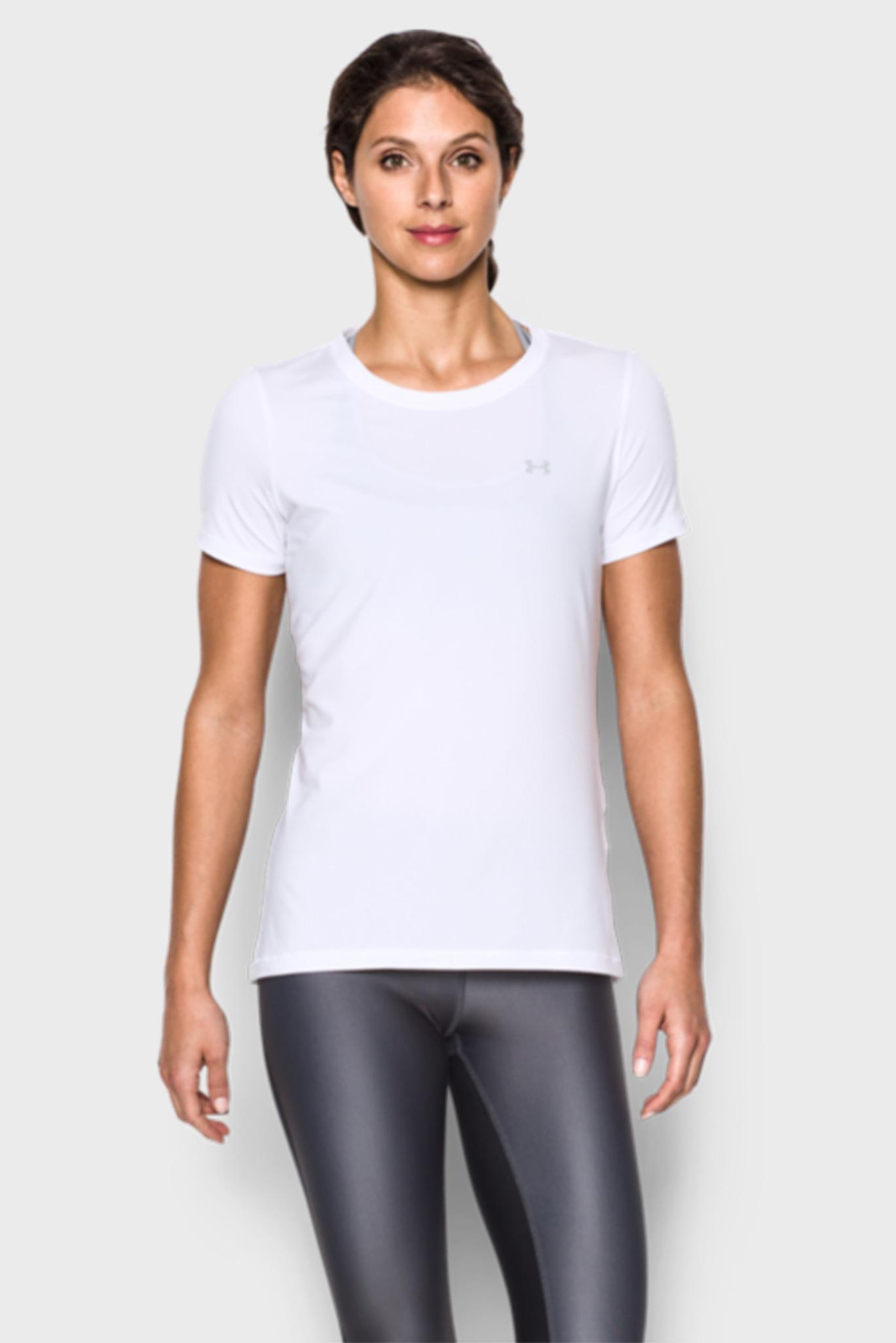 Женская белая футболка Armour Under Armour