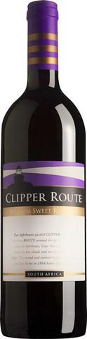 Вино Клипер Рут столовое красное п/сл. 0,75 л 13% ЮАР