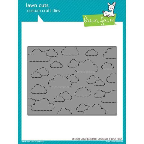 Нож  для вырубки 11х14см - Stitched Cloud Backdrop: Landscape