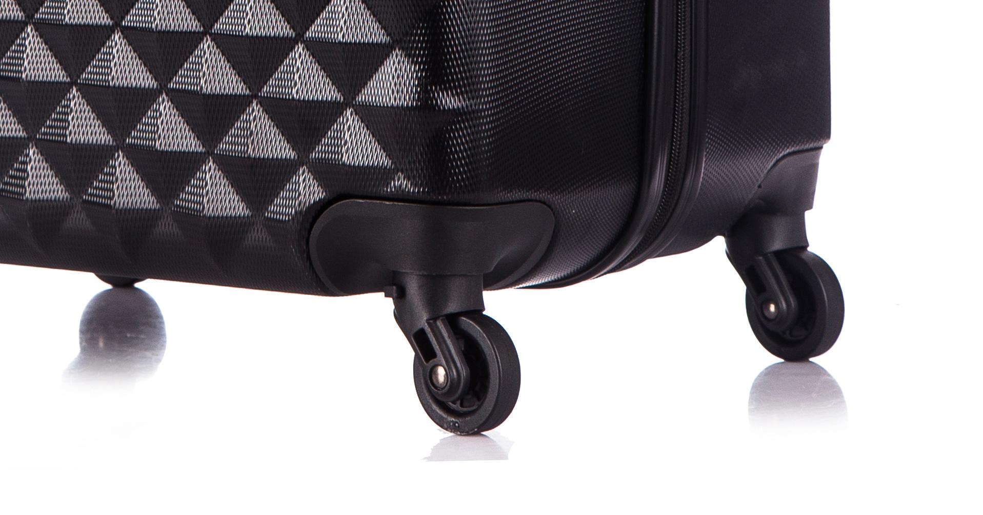 Чемодан со съемными колесами L'case Phatthaya-24 Черный (M)