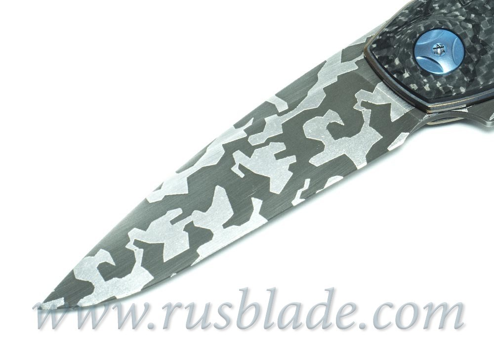 CKF CUSTOM Gratch Camo Knife