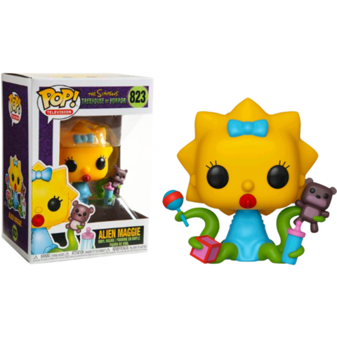 Фигурки Фигурка Funko Pop! Animation: The Simpsons - Alien Maggie