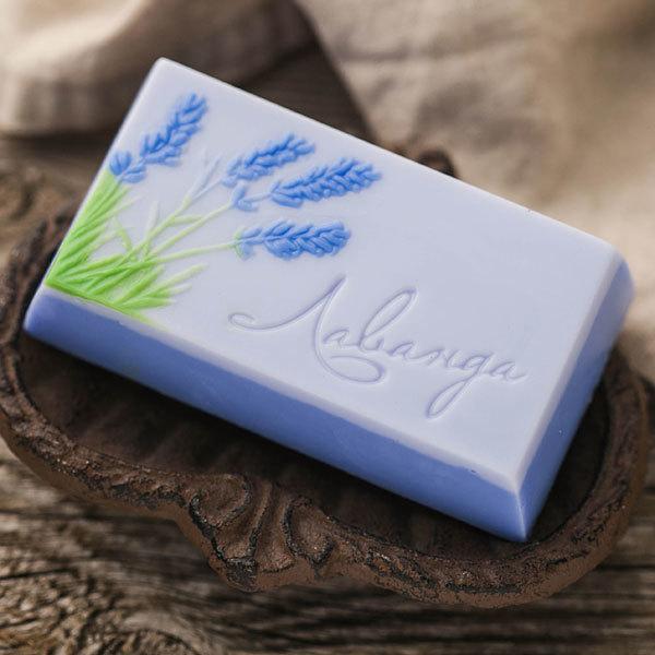 Пластиковая форма для мыла Лаванда