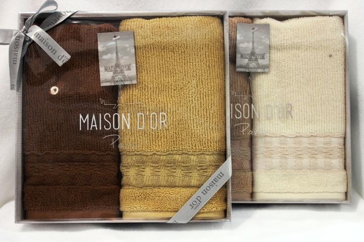 Наборы салфеток Набор салфеток VENEZIA - ВЕНЕЗИЯ  в размере 40х70 Maison Dor (Турция) VENEZIA.JPG