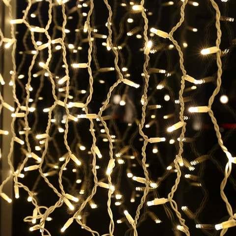Гирлянда штора 1200 светодиодов LED